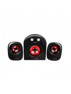 Altavoces 2.1 MARS GAMING MS2 20w Rojo y Negro