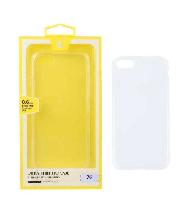 Funda Iphone 7 Compatible Silicona Transparente