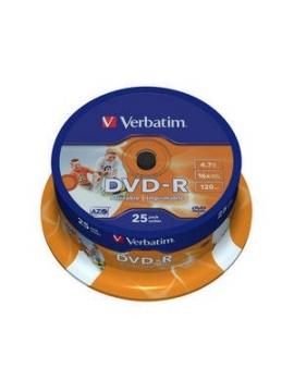 DVD-R Verbatim 25U.