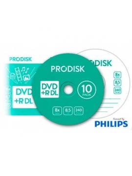 DVD+R DL Prodisk 10U.