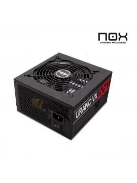 Fuente ATX Nox Urano VX 650W PFC Activo 120 mm