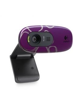 Logitech C270 Webcam HD purple