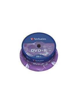 DVD+R Verbatim 25U. Printable