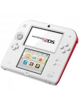 Nintendo 2DS Blanca Roja + Tomodochi Life