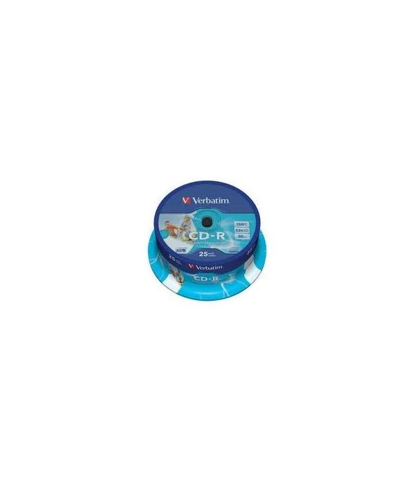 CD-R Verbatim 25U.