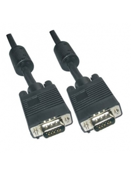 Cable VGA/VGA 5M Prolongador HD DSUB 15Pines Macho Hembra