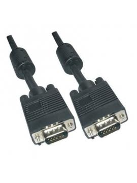 Cable VGA/VGA M-M 10M HD DSUB 15Pines