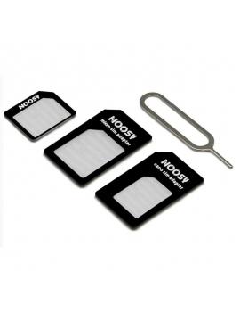 Adaptador Nano Sim + Micro Sim