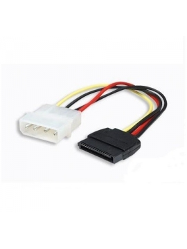 Cable Adaptador MOLEX LP4 4 Pines a SATA 15 Pines