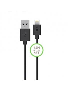 Cable Usb Datos Carga Iphone 5 Ipad Lightning Belkin