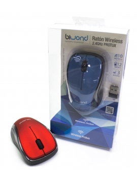 Raton Optico Inalambrico Biwond USB