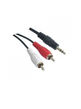 Cable Jack audio stereo a RCA 1.5m