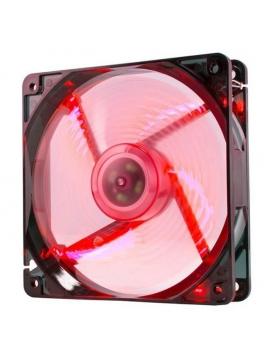 Ventilador Caja NOX Cool Fan 8Cm. Rojo