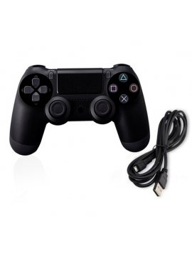 Mando SONY Ps4 Compatible Negro Wired