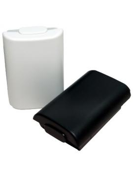 Carcasa Pilas Mando Xbox360 Negro