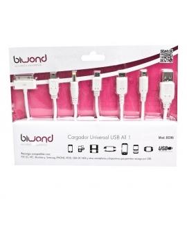 Cargador USB Universal Todo en Uno Biwond