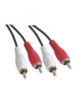 Cable RCA 2 A/M-B/M a RCA 1.8m