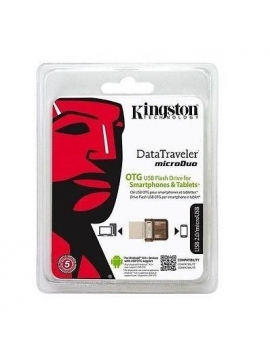 Pendrive 64Gb Kingston MicroDuo Otg Smartphones y Tablets (Remanofacturado)