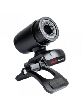 Webcam Mars Gamin  MW1 - Sensor HD 720P - Microfono