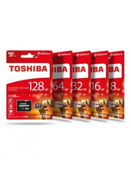 Micro SDHC Toshiba Exceria 32GB Clase 10 UHS1
