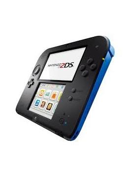 Nintendo 2DS Negra Azul (Usada)