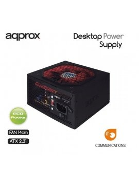 Fuente 500W APPROX APP500PS PFC Activo