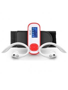 MP3 SPC Clip Pedometer 8Gb Naranja