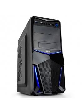 Caja ATX NOX PAX Negra/Azul USB 3.0