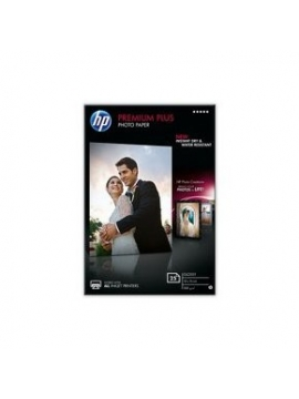 Papel HP 10x15 Photo 50U Premium Plus 300 Gramos Glossy