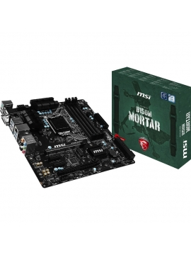 Placa Base MSI 1151 B150M Mortar Gaming Series