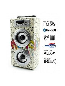 Altavoz JoyBox Karaoke Bluetooth Comic Biwond