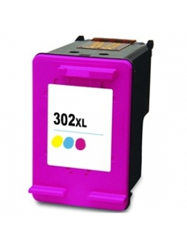 Tinta Compatible HP 302XL Color