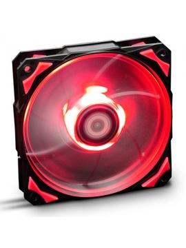 Ventilador Caja NOX Hummer HFAN Led Rojo 12cm