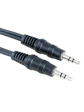 Cable Jack audio stereo m-m 0,3m