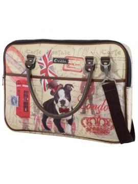 Bolsa Portatil Evitta 16 Trendy Laptop Dog/London