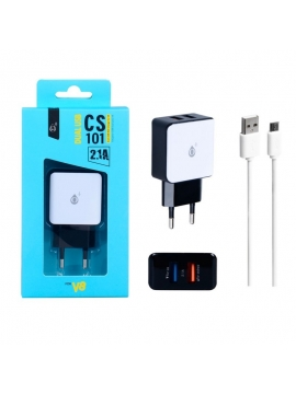 Cargador USB Doble 5V 2,1A One Plus Lighting for Iphone