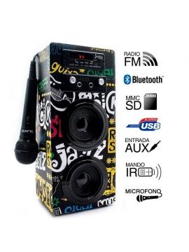 Altavoz JoyBox Karaoke Bluetooth Biwond Band