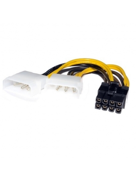 Cable Adaptador 2 Molex a PCI-E 8 PINS para VGA