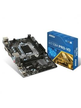 Placa Base MSI H110M PRO-VD