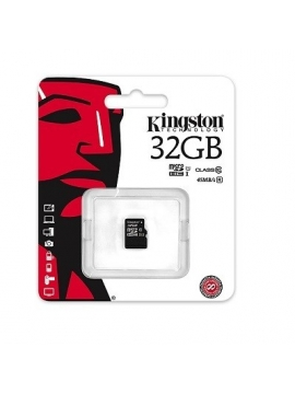 Micro SDHC 32Gb Kingston clase 10