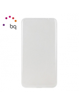 Funda BQ X5 Plus Compatible Silicona Transparente