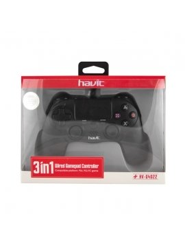 Mando SONY Ps4 Compatible Con Cable HV-E28P Compatible PS4, PS3 y PC