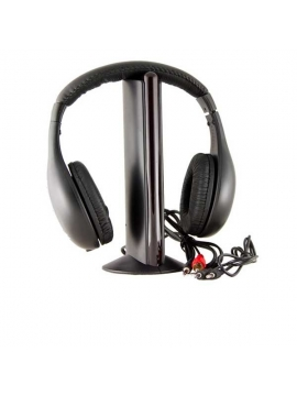 Auricular Havit  Inhalambrico Bluetooth  5 en 1 Negro