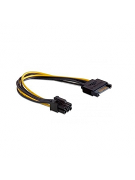 Cable Adaptador Alimentacion Sata a 6 Pines (PCI Express)