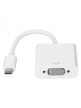 Adaptador USB-C 3.1 Macho a VGA Hembra