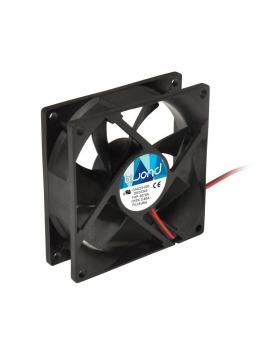 Ventilador Caja 12Cm. Negro