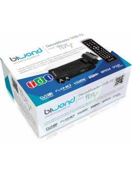 TDT Mini Biwond DVB-T2 TDTy + Full HD