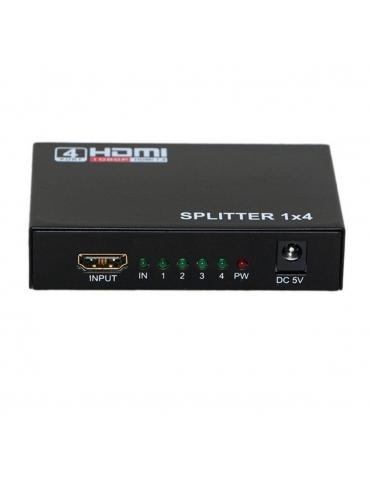 Splitter HDMI 1X4 Con Amplificador