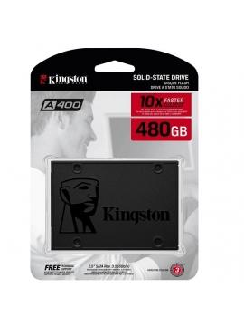 SSD 480GB SATA 3 Kingston A400