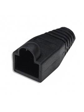 Capuchón Para Conectores Rj45 Color Negro